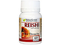 NaturGreen Red Reishi 60 kaps