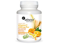 Aliness Witamina C MIX 1000mg 100 kaps VEGE